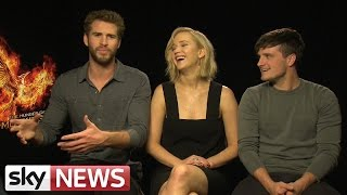 Jennifer Lawrence, Josh Hutcherson & Liam Hemsworth Explain All The Rumours
