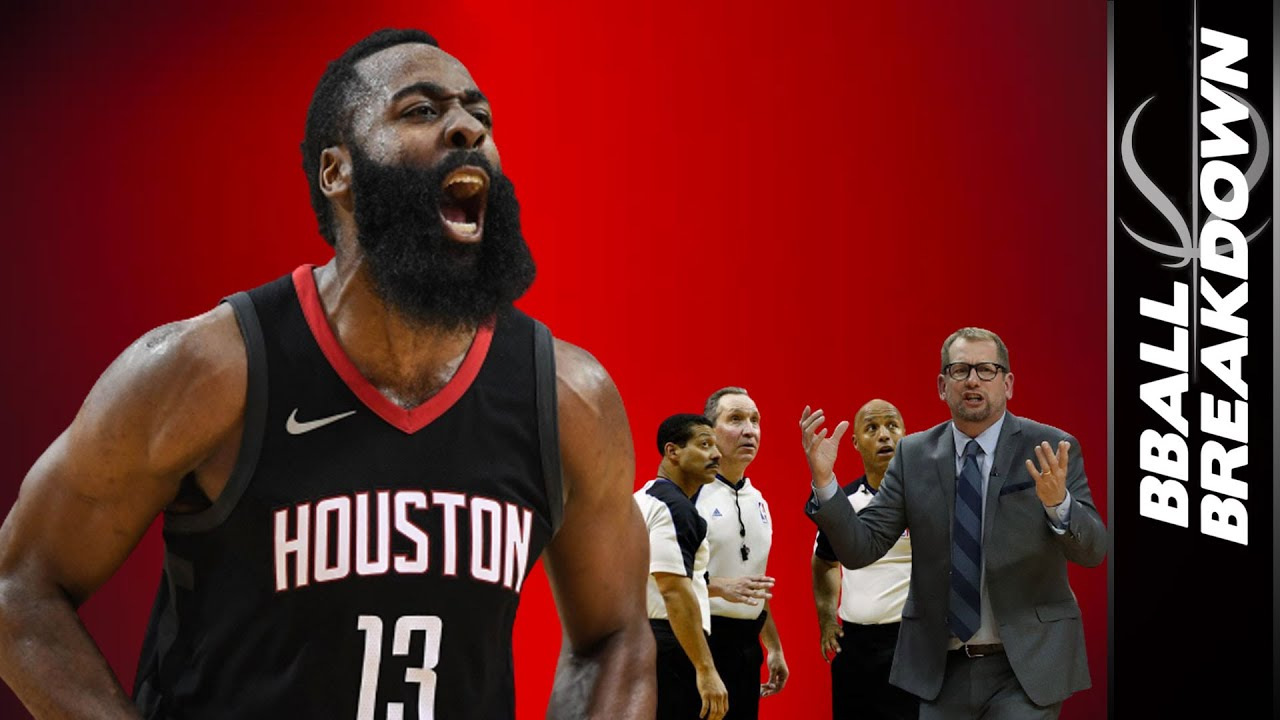 Is James Harden Breaking the NBA Rule Book AGAIN?!?