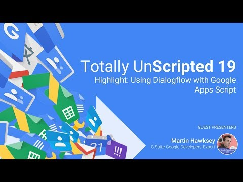 Google Apps Script Patterns: Creating conversational