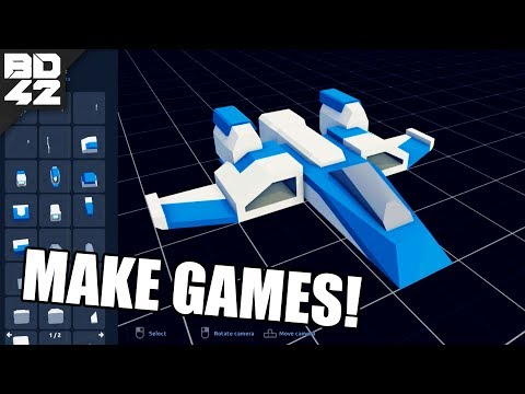 "YOU CAN MAKE GAMES WITH THIS! Introducing ""Asset Forge"" a Brick Rigs Style Model Development Kit"