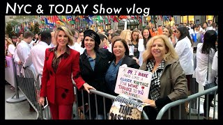 NYC + TODAY Show Vlog | Dominique Sachse