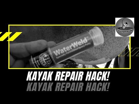 Kayak Hull Repairs With Jb Waterweld Episode 79 Youtube