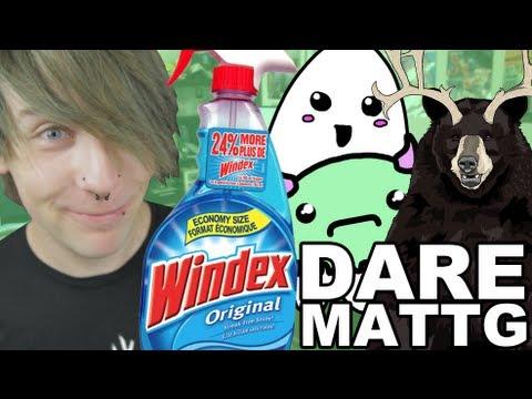 Dare MattG - 38 ( Drinking windex in public prank, Victorias secret, Ghosts) - Dare MattG - 38 ( Drinking windex in public prank, Victorias secret, Ghosts)