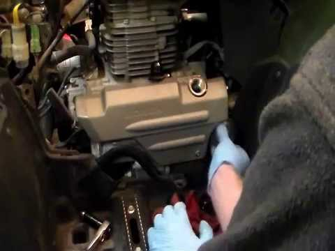 how to change the oil on a honda rancher youtube 2003 Honda Sportrax 250Ex how to change the oil on a honda rancher