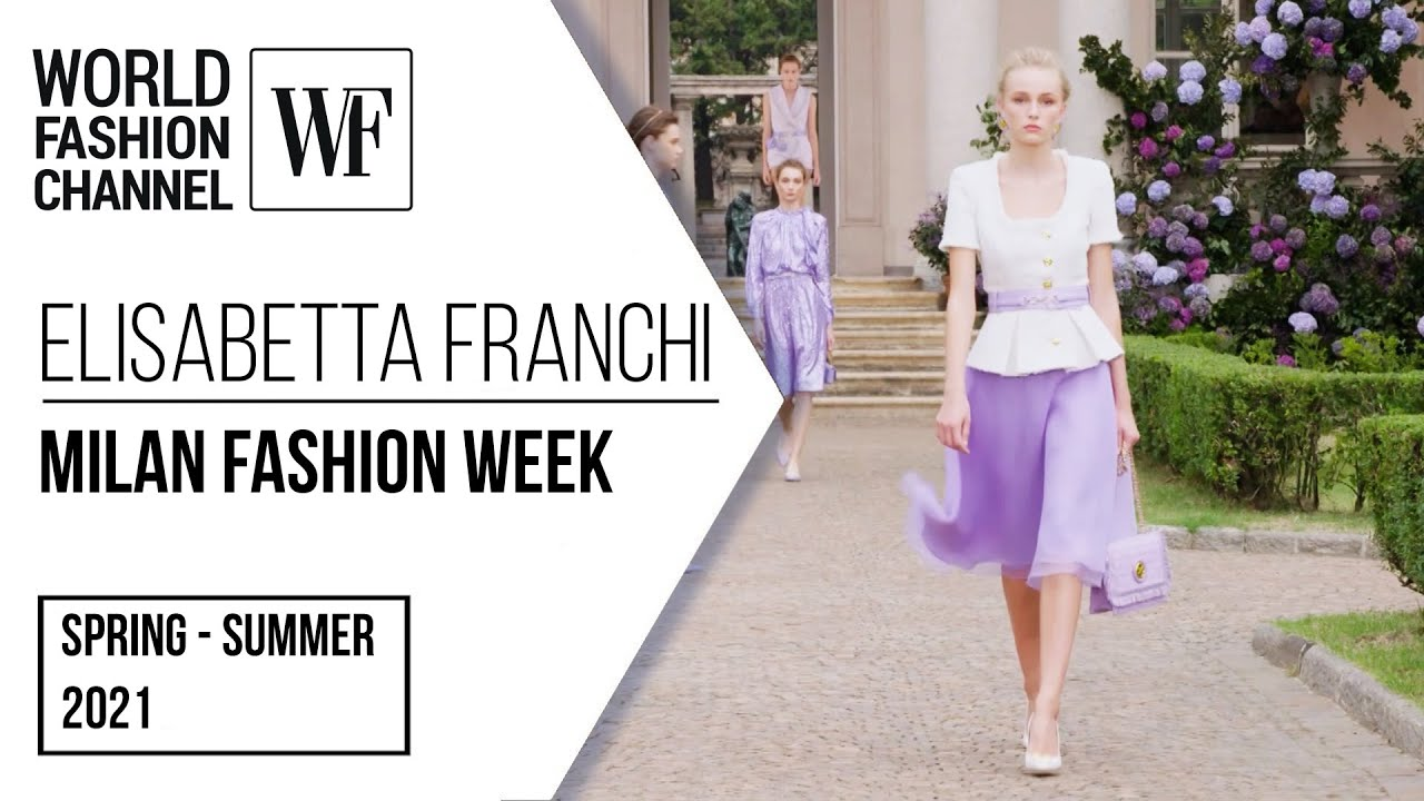 Elisabetta Franchi spring-summer 2021 | Milan Fashion Week