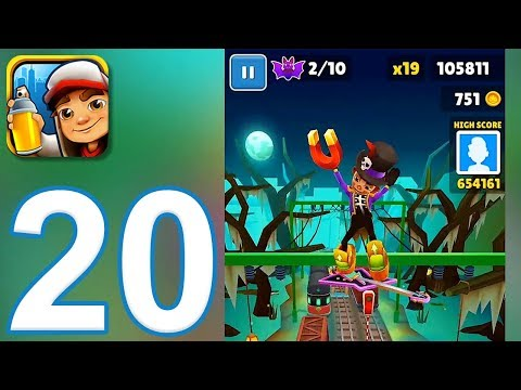 Subway Surfers - Gameplay Walkthrough Part 20 - Halloween Update New Orleans (iOS, Android)