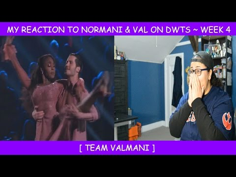 My Reaction To Normani & Val On Dancing With The Stars ~ Week 4