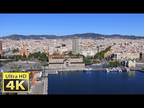 Barcelona Spain  / Amazing 4k video ultra hd