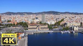 Barcelona Spanje - Geweldige 4k-video ultra hd