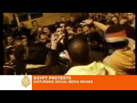 Egyptians document Tahrir police violence