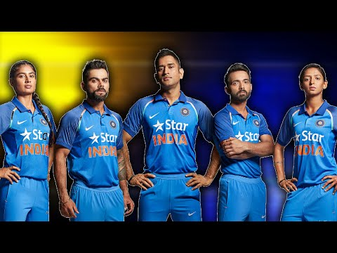 Team India New Jersey For ICC World Cup 2019 | Hyderabad