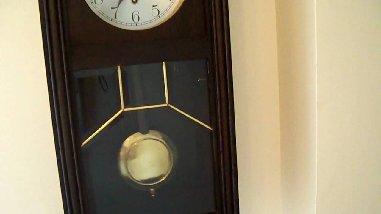 Hac westminster chime wall clock youtube amipublicfo Choice Image