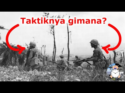 Taktik Penyerangan Regu Infanteri Amerika Serikat Di Tahun 1942