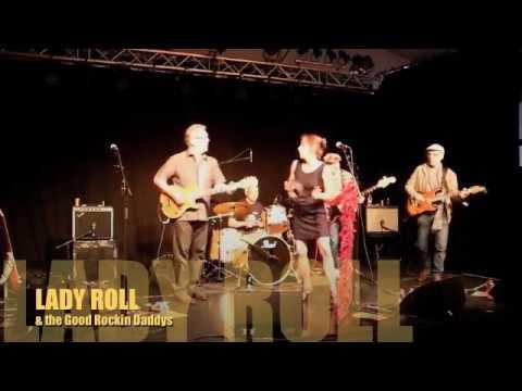 """LADY ROLL  The Good Rockin Daddys au festival """"Le HANGAR"""" à Blois  juin 2017"""