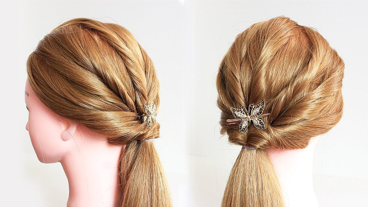 How To Easy Messy Braid Hairstyle Hairstyle Tutorial Youtube