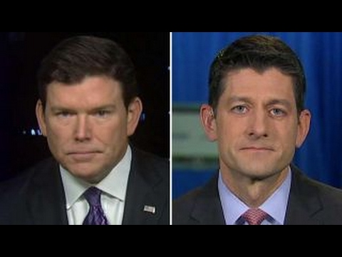 Reaction to Bret Baier's interview with Speaker Ryan