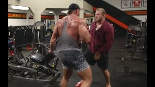 I GOT INTO A FIGHT AT GOLDS! BACK DAY