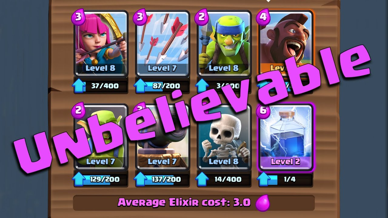 How To Make A Good Battle Deck In Clash Royale Howsto Co