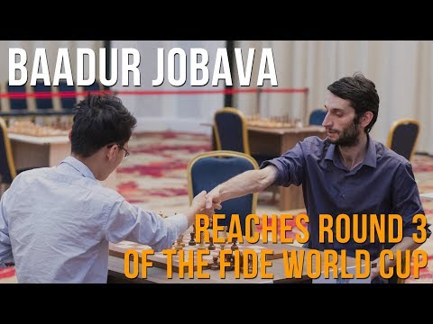 Baadur Jobava on beating Yu Yangyi at the World Cup