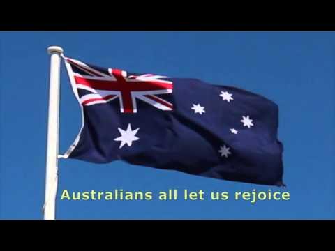 Advance Australia Fair in a singable Key