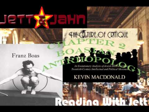 Culture of Critique Franz Boas Chapter 2 1/8