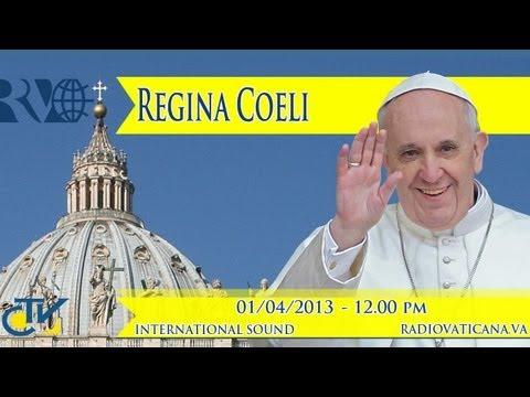 REGINA CAELI 2013-04-01
