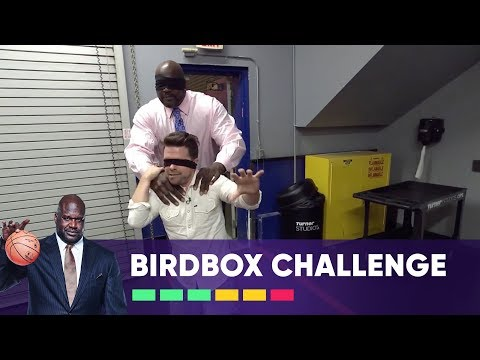 Don't Take Off Your Blindfold! | Bird Box