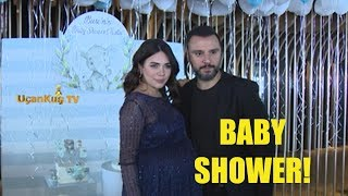 Alişan ve Buse Varol'dan Baby Shower Partisi