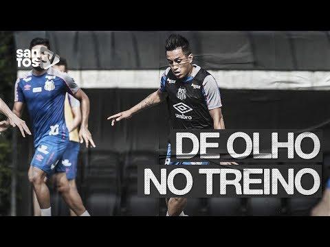 COM A VOLTA DE CUEVA, SANTOS SEGUE PREPARAÇÃO PARA ENFRENTAR O BOTAFOGO | DE OLHO TREINO (17/07/19)