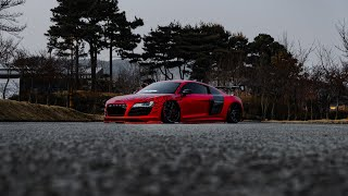 The Red Dragon | Bagged Audi R8 V10