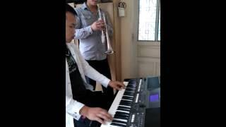 Bao la tình chúa trumpet và organ