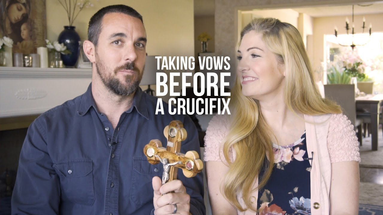 The Power of Taking Marriage Vows Before a Crucifix