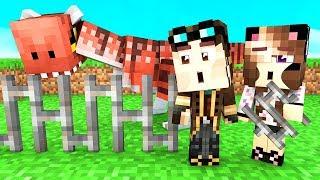COSTRUIAMO IL PARCO DEI DINOSAURI SU MINECRAFT! - Casa di Minecraft LIVE