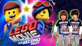 VAMOS al estreno de LA LEGO PELICULA 2!! 📘ALBUM de CROMOS y JUGUETES LEGO MOVIE 2