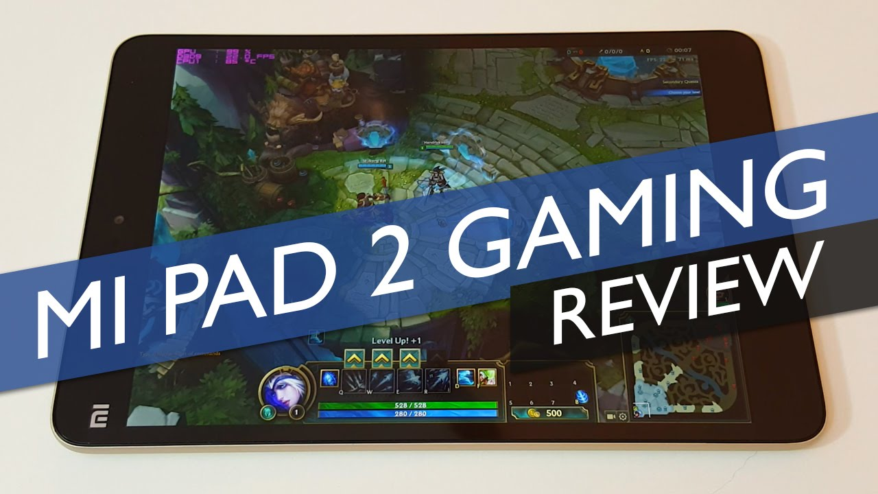 Mi Pad 2 Windows Gaming Review: DH5, A8A, LoL & CSGO
