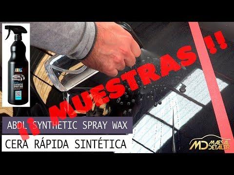 MUESTRAS ADBL Synthetic Spray Wax - Cera rapida sintetica - maesaldetailer.es