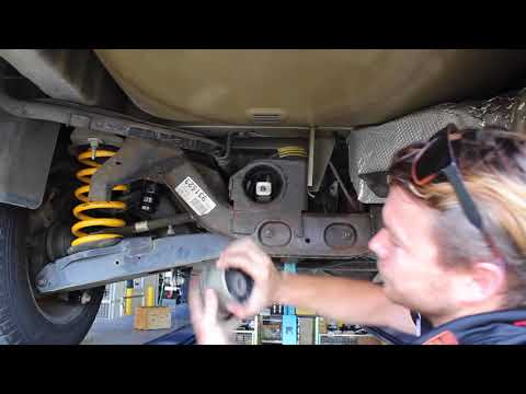 Ford Territory 2004-2011 Rear Diff Bush Fitment Tips and Tricks