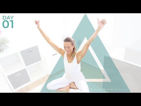 Day 1: Kundalini Yoga for Weight Loss & Energy - on Floor or Chair Yoga | Beginner Kundalini Yoga
