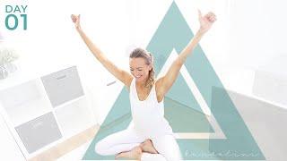 Day 1: Kundalini Yoga for Weight Loss & Energy - on Floor or Chair Yoga | Beginner Kundalini Yoga