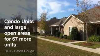 Baton Rouge Condos: Cottages At Southfork Tour 70816