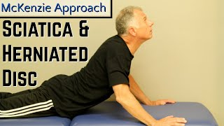 Download Absolute Best Exercise for Sciatica & Herniated Disc- McKenzie Approach. Mp3