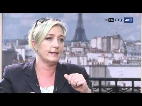Marine Le Pen - YouTube Elections 2012