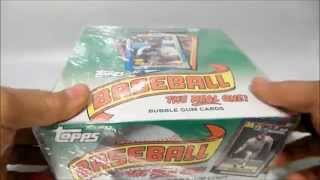 1990 Topps Baseball Cards CASE UNBOXING video FRANK THOMAS ROOKIE!