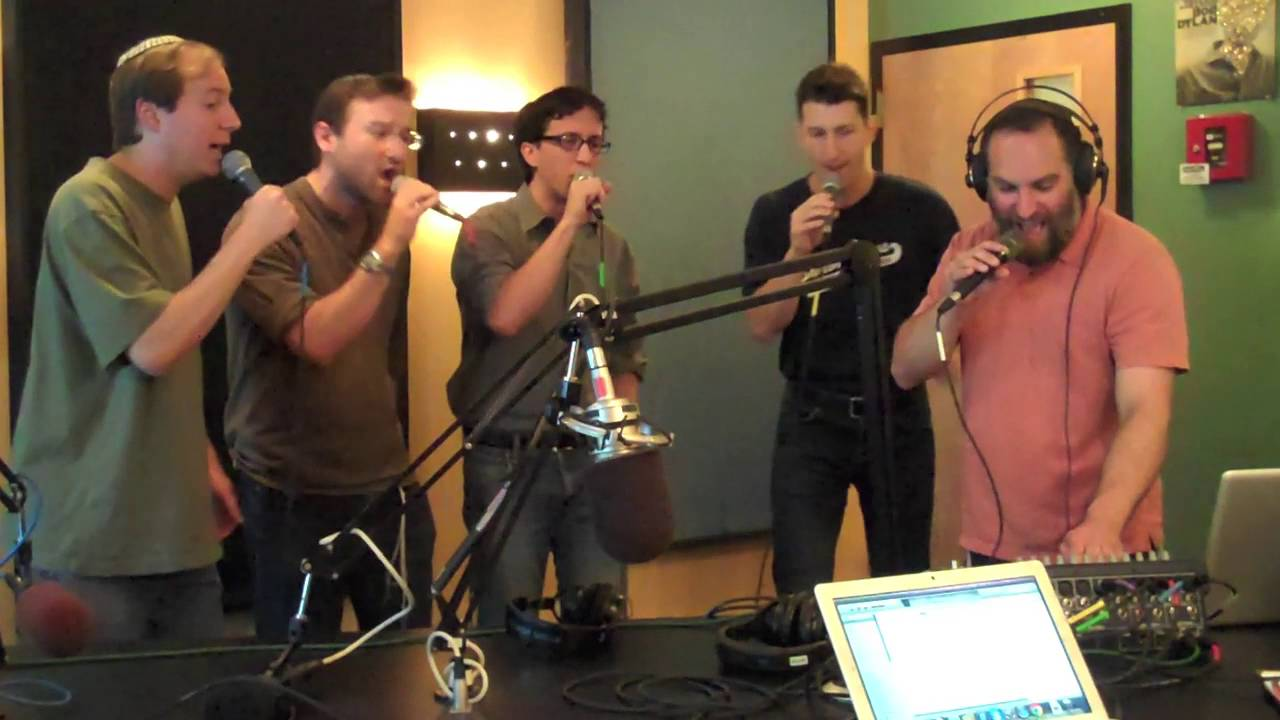Jewish a cappella music group Shir Soul - Tov L'Hodot LIVE on JM in the AM  with Nachum Segal