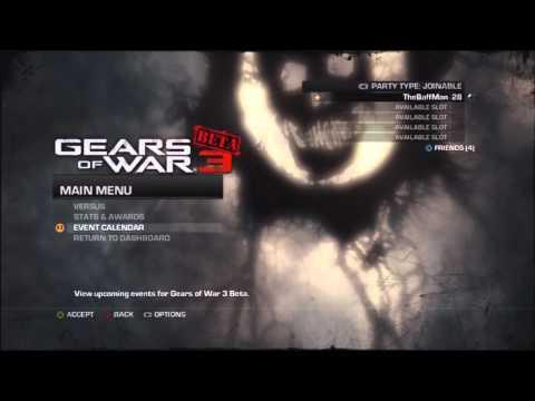 TheBaffMan's Gears Of War 3 Beta Ultimate Guide
