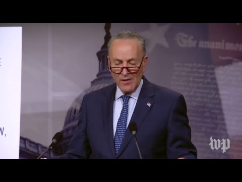 Schumer holds a news conference on tax reform