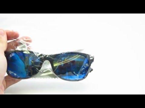 a9dda1d247e Unboxing Ray-Ban RB 2132 New Wayfarer 622 17 Sunglasses