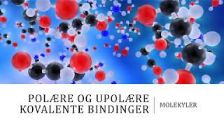 Polære og upolære kovalente bindinger - Molekyler