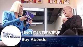 TWBA Uncut Interview: Boy Abunda | Part 1