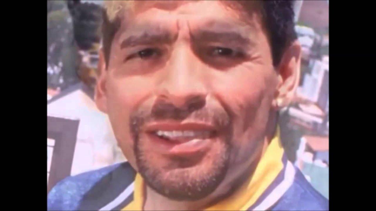 Los Rostros de Maradona - YouTube